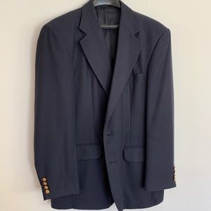 Haggar Navy Blazer with gold buttons size 42R